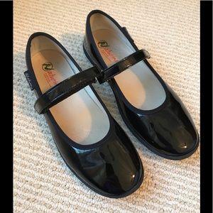 Girls' Naturino Black Patent Leather Shoes